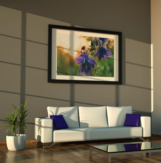Fotoobraz do salonu